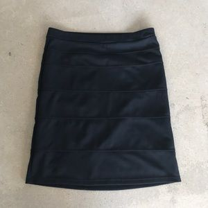 Black stretchy pencil skirt!
